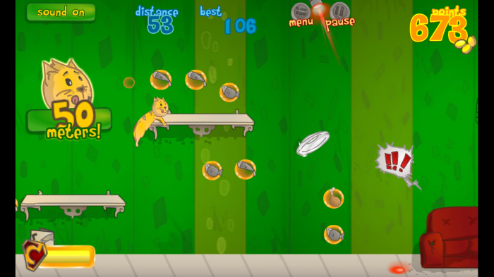 Fur and Furious – play a zany endless run & jumper