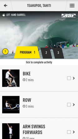 Joel Parkinson Pro Surf - Programs