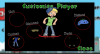 Jumpy Skater - Customize Player