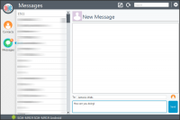 Moaxis Desktop App - Compose Message