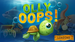 Olly Oops - Start Screen
