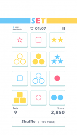 Set of Threes - Gameplay 1