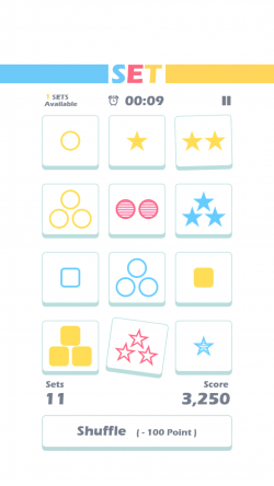 Set of Threes - Gameplay 3