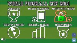 World Foosball Cup 2014 - Start Screen