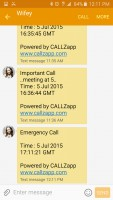 CallzApp - Follow-up Text Message