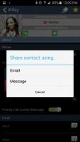 CallzApp - Share Contact