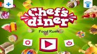 Chefs Diner Food Rush - Start Screen