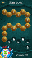 Crystalux Puzzle Game - Levels