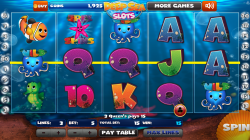 Deep Sea Slots - Gameplay 1