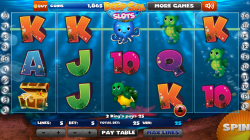 Deep Sea Slots - Gameplay 2