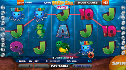 Deep Sea Slots - Gameplay 3