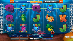 Deep Sea Slots - Gameplay 5