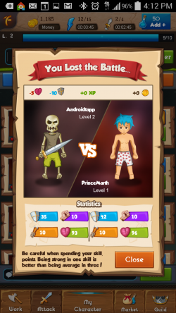 Heroic Legends - Attacking 2