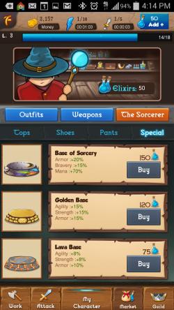 Heroic Legends - Special Market Items