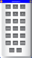 IR Remote Lite for SAMSUNG and HTC - Full Remote