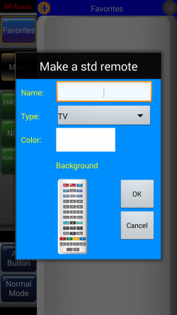 IR Remote Lite for SAMSUNG and HTC - Manually Enter Remote