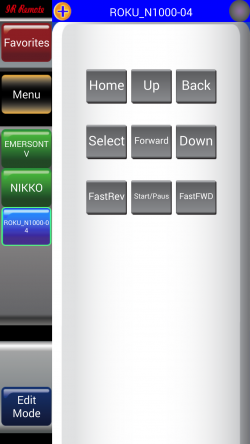 IR Remote Lite for SAMSUNG and HTC - Roku Remote