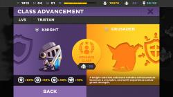 Kings League Odyssey - Class Advancement