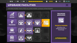 Kings League Odyssey - Facility Upgrades