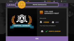 Kings League Odyssey - League Ranks