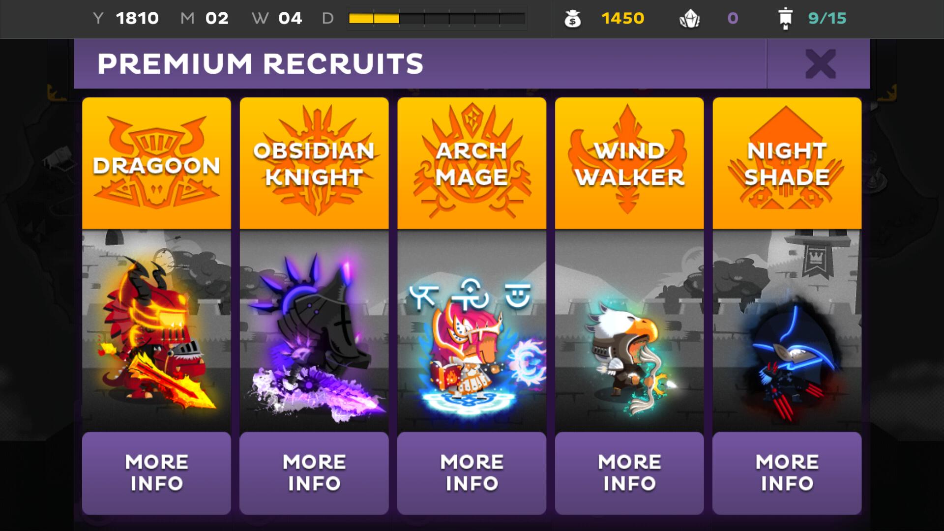 Kings League Odyssey Premium Recruits Via In App