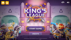Kings League Odyssey - Start Screen