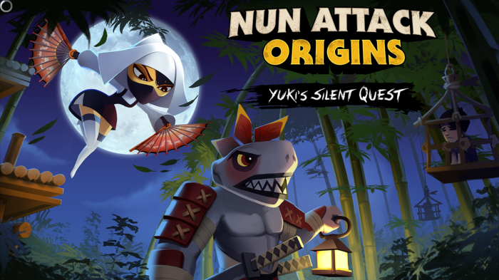 (Must Play HD Game!) Nun Attack Origins: Yuki's Silent Quest