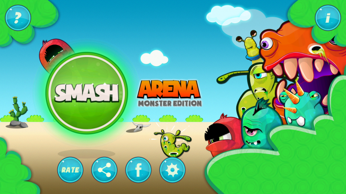 Play Smash Arena: Monster Edition – an addictive squashing game