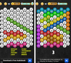 Word Search Hexagon - Progression