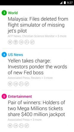 Yahoo News Digest - News List