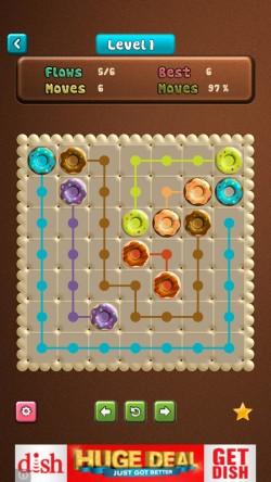 Donut Flow Saga - Gameplay 1