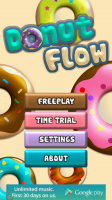 Donut Flow Saga - Start Screen