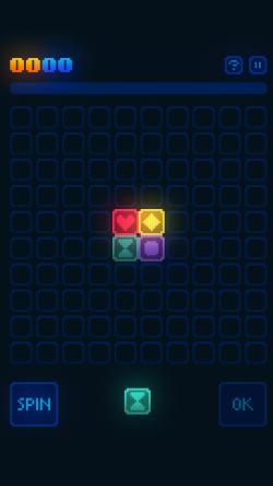 GlowGrid - Gameplay 1