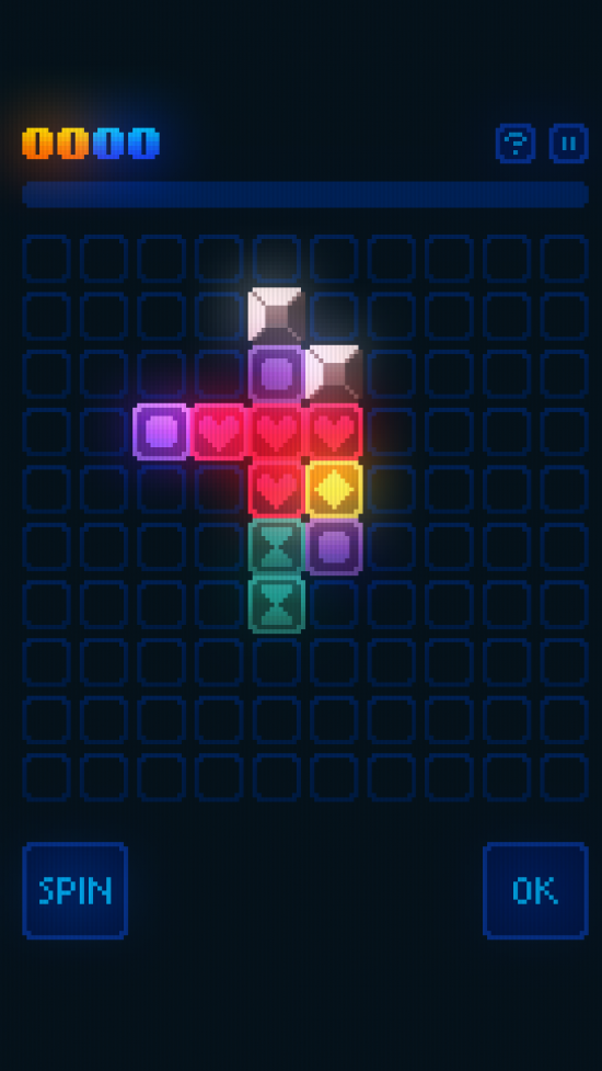 GlowGrid – a retro neon strategy game