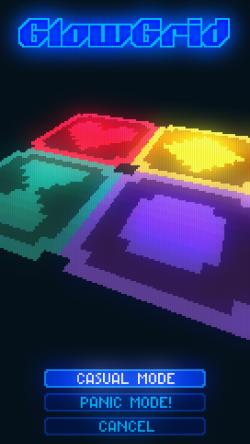 GlowGrid - Gaming Modes