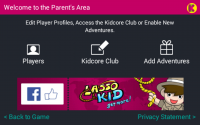 Lasso Kid - Parents Area