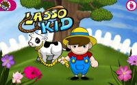 Lasso Kid - Start Screen