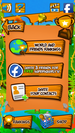Squirly - Sign In with Social Accounts for Global Rankings