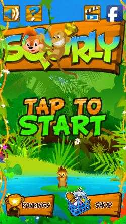 Squirly - Start Screen