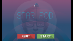 Star Pod - Start Screen
