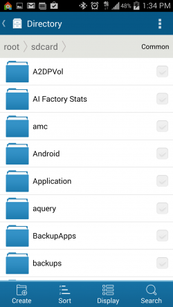 Tomi File Manager - Directory