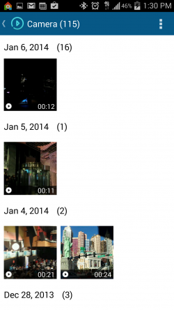 Tomi File Manager - Videos