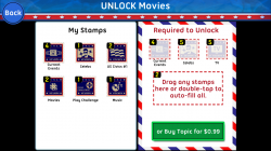Xac USA Pop Culture Trivia - Use Stamps to Unlock Trivia Categories