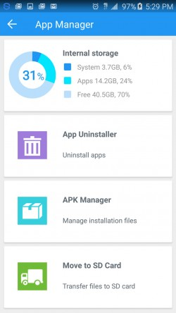 360 Security - App Manager