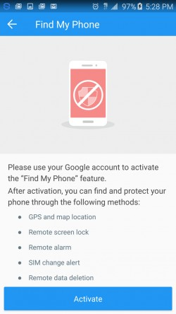 360 Security - Find My Phone