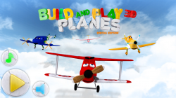 Build and Play 3D Planes Edition - Start Screen