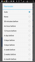 Countdown Widget Events Lite - Reminder Intervals