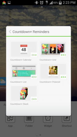 Countdown Widget Events Lite - Widgets for Homescreen