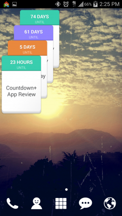 Countdown Widget Events Lite - Widgets