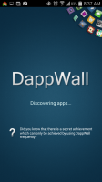 DappWall - Start Screen
